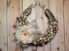 bling out horseshoe-Good Luck Horseshoe Shabby Chic Cottage Style by LuckySoleDesigns, $38.00
