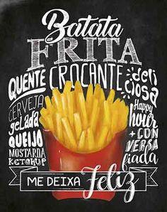 Food Poster Design, Menu Design, Batata No Cone, Open Plan Kitchen Dining Living, Cafe Menu, Lettering Tutorial, New Menu, Chalkboard Art Kitchen, Posca