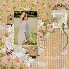 summer LO @akonitt #layout #by_marina_gridasova