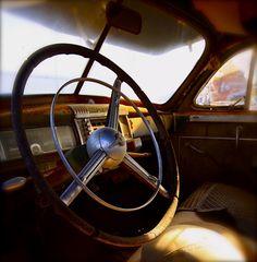 Chrysler Interior of old