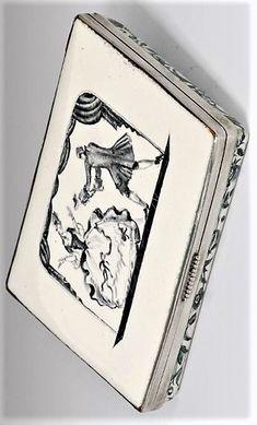 JOSEF HOFFMANN/MARIA LIKARZ-STRAUSS - Tabatière, Wiener Werkstätte, ca. 1921 Koloman Moser, Vienna Secession, Glass Art, Designers, Personalized Items, Female, Women, Woman