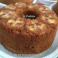 Relentless About Your Results Food Cakes, Sweet Recipes, Cake Recipes, Brownie Cake, Cupcakes, Portuguese Recipes, Food Journal, Cold Meals, World Recipes