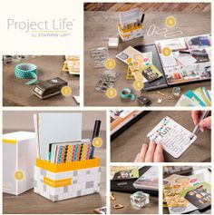 Project Life + Stampin' Up! = Endless scrapbooking possibilities #PLxSU #stampinup #projectlife