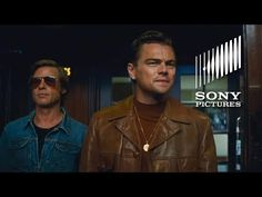 """versacherries: """"Brad Pitt and Leonardo Dicaprio, Once Upon a Time in Hollywood """" Latest Movie Trailers, New Trailers, Latest Movies, Hollywood Movie Trailer, In Hollywood, Sony Pictures Entertainment, Stunt Doubles, Charles Manson, Ensemble Cast"""