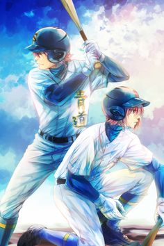 Ryosuke Kominato (Older Brother) vs. Haruichi Kominato (Younger Brother) | Diamond no Ace #anime
