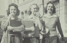 1941 Candid - Fremont High School, Oakland, California.    #1941 #Fremont #yearbook