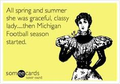 That's right!  Go Blue!