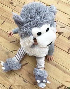 wolf costume, big bad wolf, halloween