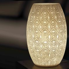 Lamps & Candle Holders - Oval Design, Pattern 2