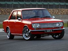 Had a Datsun 1600 but mission brown