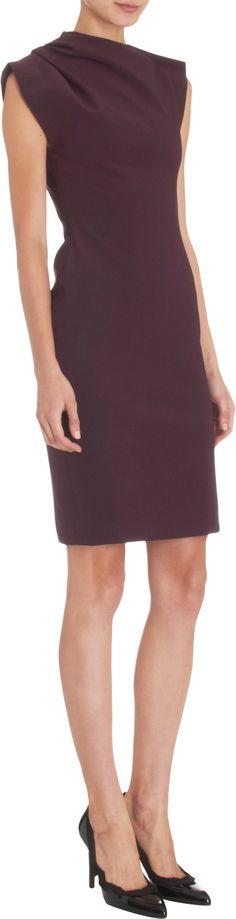 Asymmetric Neckline Dress