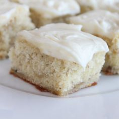 Banana Bars... I've had these before and they are YUMMY!!!