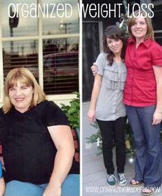 My organized weight loss | OrganizingMadeFun.com