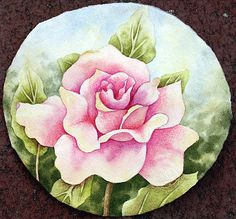 Color Magic Rose Painting by Nancy Goldman