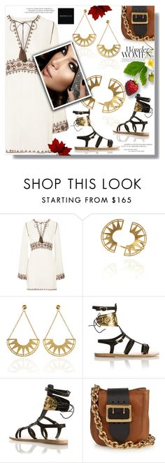 """""""Blingsense Jewelry"""" by sans-moderation ❤ liked on Polyvore featuring Talitha, Burberry and Jennifer Lopez"""