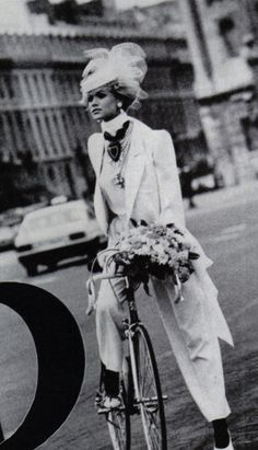 1984 - Yves Saint Laurent Couture by Peter Lindbergh for Vogue