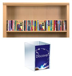Small Signage Blocks : Shelf guiding : Opening the Book Library Furniture