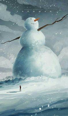 Criaturas encontradas na neve