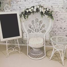 Here's some pretty props heading out today. Perfect for Graces baby shower. Bridal Shower, Baby Shower, Vintage Props, Prop Styling, Photo And Video, Chair, Pretty, Furniture, Beautiful