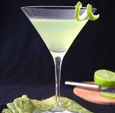 Lime Cardamom Martini - from All Day I Dream About Food