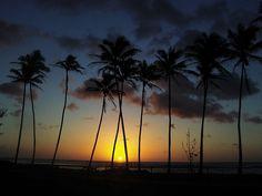Sunrise  Kapa'a. Kaua'i, Hawaii, USA