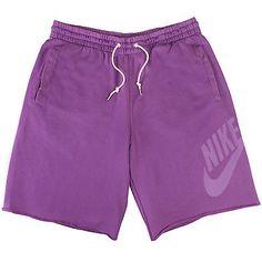 Nike Hbr Ft Washed Short Mens 521895-560 Ultra Violet Shorts Activewear Size XL
