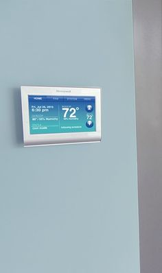 Who says your thermostat has to blend in? Change the color of your @honeywellhome Wi-Fi Smart Thermostat to complement your home décor. Sponsored.