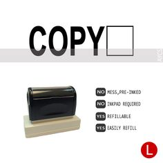 COPY, Pre-Inked Office Stamp, 760310-F