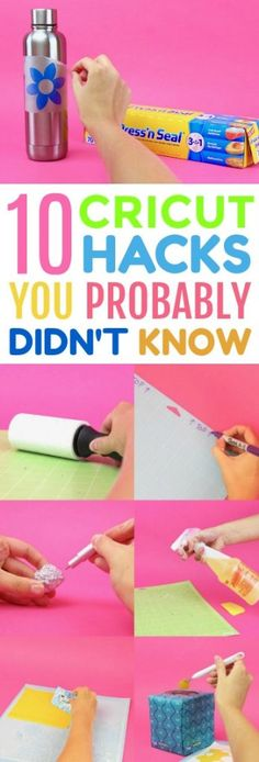 10 Cricut Hacks You Probably Didn't Know - A Little Craft In Your Day.