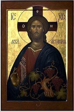 Jesus Christ God by Carol Jackson Religious Images, Religious Icons, Religious Art, Byzantine Icons, Byzantine Art, Religion, Holy Art, Russian Icons, Jesus Pictures
