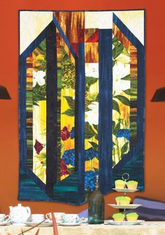 Conservatory by Stephanie Brandenburg (from Quilt Trends Magazine Spring 2014 issue)