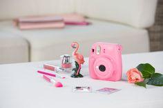 instax mini 9 in Flamingo Pink Fujifilm Instax Mini, Instax Mini 9, Instax Mini Camera, Instax Tips, Fuji Camera, Flamingo, Gift Baskets For Women, Mini 8, Camera Accessories