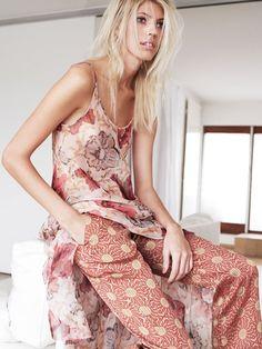Devon Windsor for Vogue Turkey by Horst Diekgerdes
