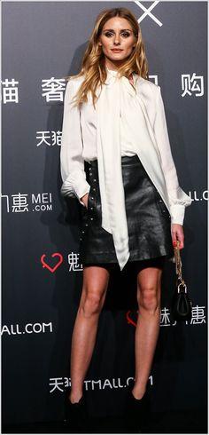Olivia Palermo in Shanghai, China