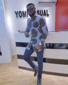 "Yomi Casual's Ankara designs are usually modern, light and young. He stays true to the saying ""Less is more"" It is no longer news that Yomi Casual is one of the best Nigerian fashion designers so t…"