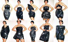 Trash bag dress - http://i1123.photobucket.com/albums/l543/hercampusphoto/People/Other%20miscellaneous%20people/trashbag.jpg