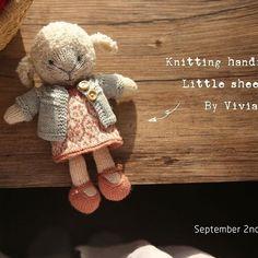 #knitting #knitdoll #knittinglove #knittingsheep