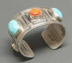 McKee Platero Bracelet of Turquoise and Spondylus