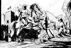 fantasy scene by ashasylum.deviantart.com on @DeviantArt