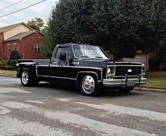 Image result for lowered chevy dually trucks