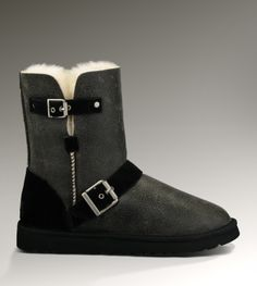 UGG Short Dylyn Classic 1001202 Jacket Black Boots