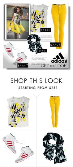 """""""Selena Gomez"""" by switchkid ❤ liked on Polyvore featuring Acne Studios, adidas and adidas NEO"""