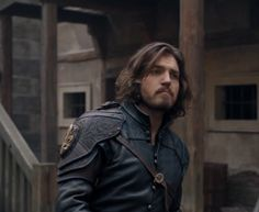 Bbc Musketeers, Tom Burke, Prisoners Of War, Handsome Actors, Jon Snow, Toms, Leather Jacket, Jhon Snow, Studded Leather Jacket