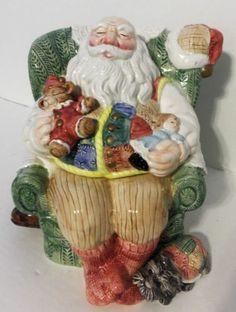 Santa 1992 Cookie Jar by Fitz & Floyd