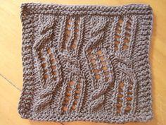 Woozy Cloth ~ smariek knits