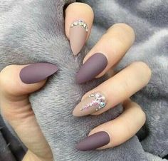 100 Beautiful rhinestone nail ideas design that you'll love