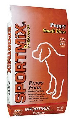 SPORTMiX Puppy Small Bites Dry Dog Food 33Pound Bag *** More info could be found at the image url. (This is an affiliate link)