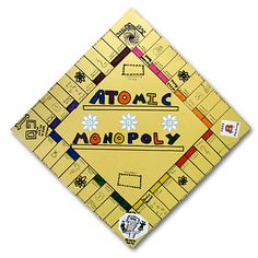 Atomic Monopoly- email teacher for how to do this project fully!
