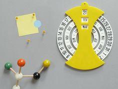 70s Dial Calendar by Present & Correct