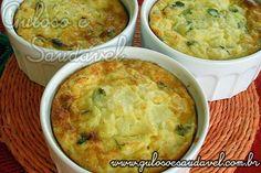A dica para o #jantar é um super leve Suflê de Chuchu, impossível não se encantar, o sabor é irresistível.   #Receita aqui: http://www.gulosoesaudavel.com.br/2012/02/01/sufle-chuchu